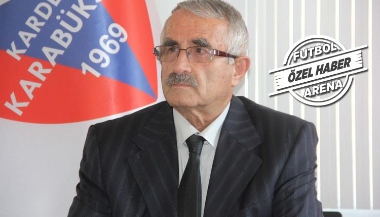 Karabükspor'dan Sabri Sarıoğlu için transfer açıklaması
