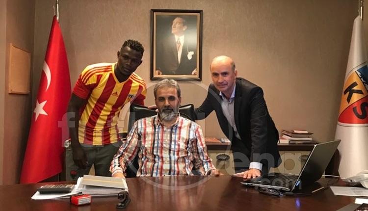 Kayserispor, Stephane Badji ile sözleşme imzaladı