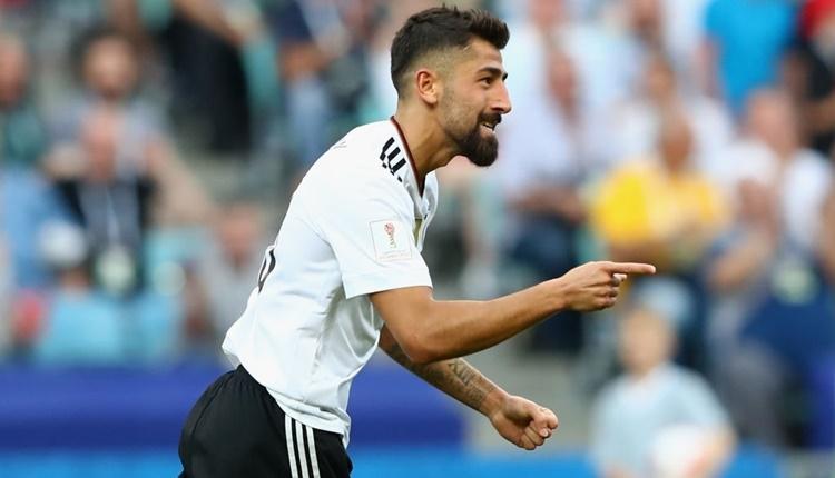 Kerem Demirbay Almanya ile ilk golünü attı (İZLE)