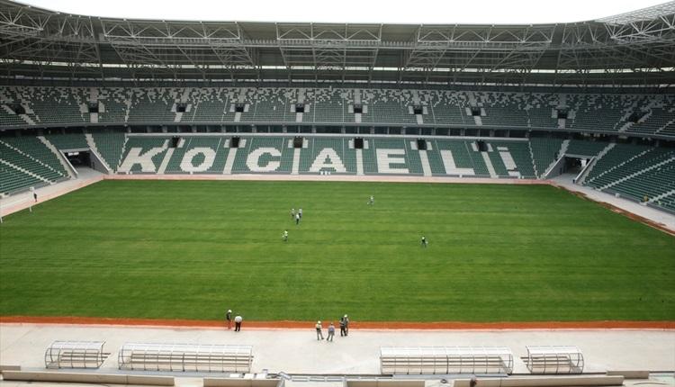Kocaelispor'un yeni stadı ne zaman açılacak?