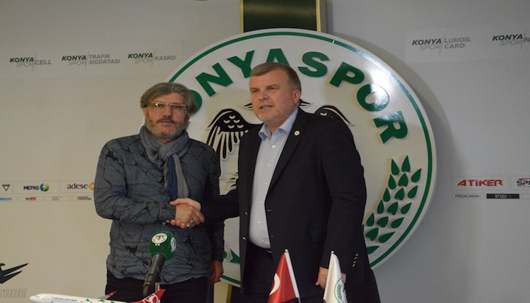 Konyaspor'da Mustafa Akçay ''endüstriyel futbola'' geri döndü