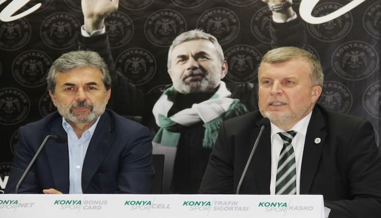 Konyaspor'dan flaş Aykut Kocaman açıklaması: ''Ocak ayında istedi''