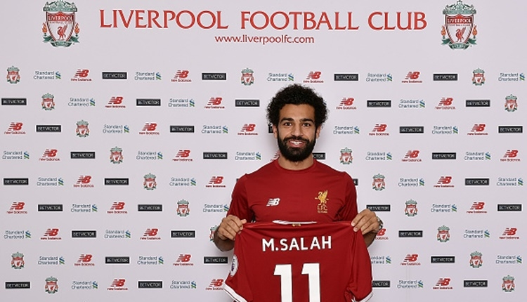Liverpool, Roma'dan Salah'ı transfer etti