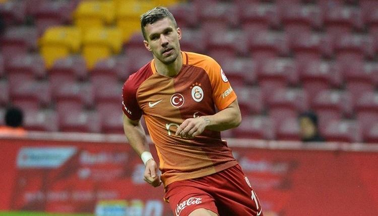 Lukas Podolski, Galatasaray'a veda ediyor