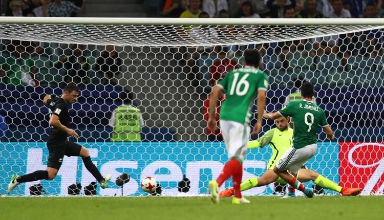 Meksika 2-1 Yeni Zelanda maçı özeti ve golleri (İZLE)
