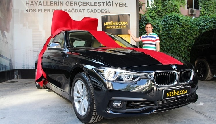 Nesine.com'dan İddaa oynadı, BMW kazandı