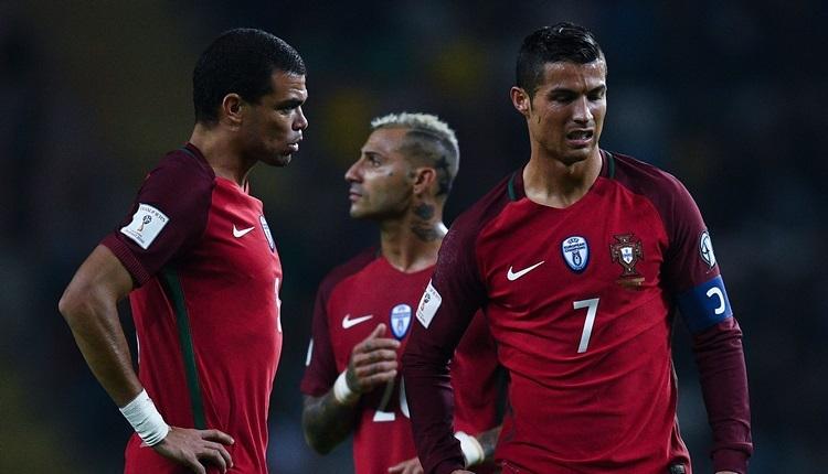 Portekiz  - Meksika maçında video hakem Pepe'nin golünü iptal etti (İZLE)