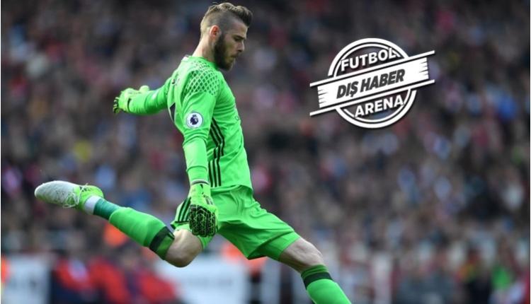 Real Madrid'den David de Gea transferi için Manchester United'a servet