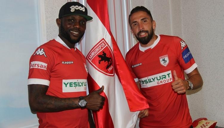 Samsunspor'da iki transfer birden