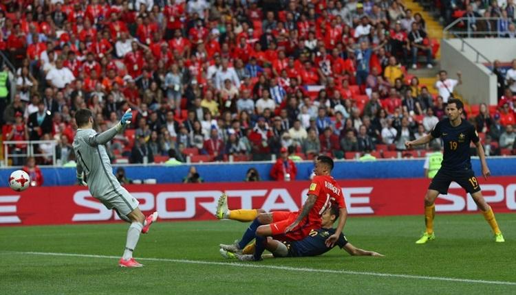 Şili 1-1 Avustralya maç özeti ve golleri izle