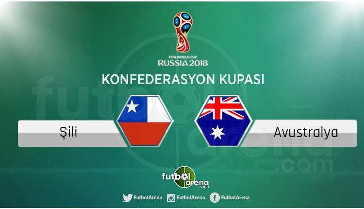 Şili - Avustralya maçı saat kaçta, hangi kanalda?