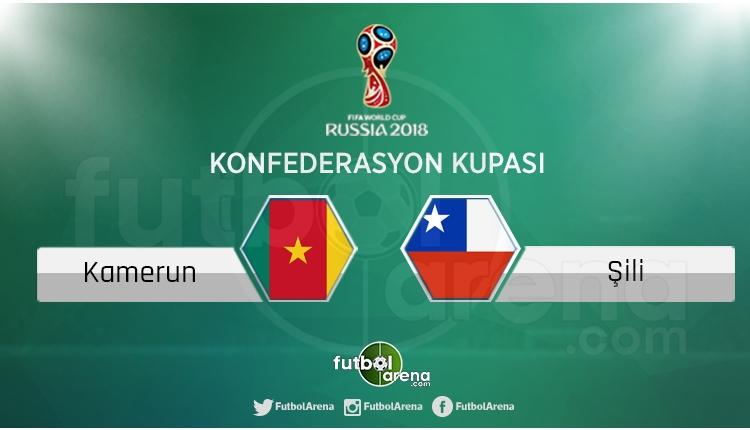 Şili - Kamerun maçı saat kaçta, hangi kanalda?