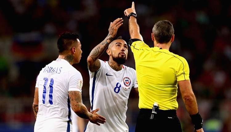 Şili'nin golü video hakeme takıldı!