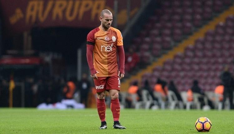 Galatasaray'da Sneijder'in menajerinden son dakika transfer açıklaması