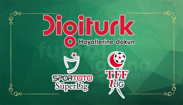 Süper Lig ve TFF 1. Lig maçları Digitürk'te ne kadar?