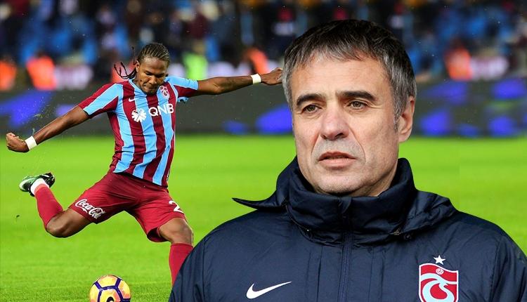 Trabzonspor'da transferde Ersun Yanal'ın Rodellega kararı