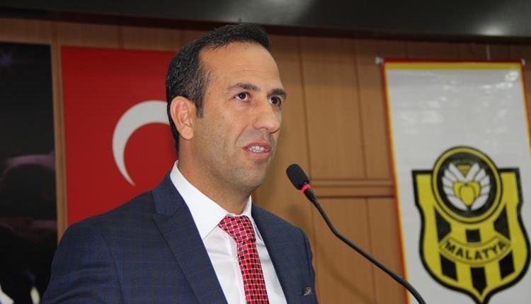 Yeni Malatyaspor Başkanı Adil Gevrek'ten Sergen Yalçın açıklaması