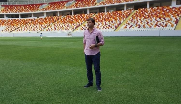 Yeni Malatyaspor'da Ertuğrul Sağlam stadı gezdi