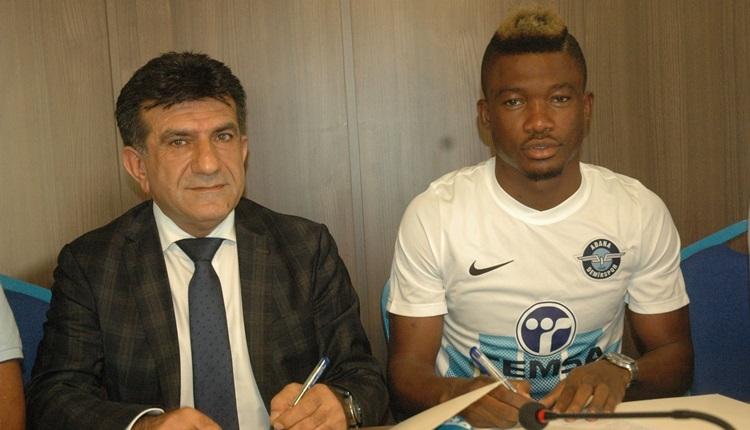 Adana Demirspor transferde Lingane ile sözleşme imzaladı