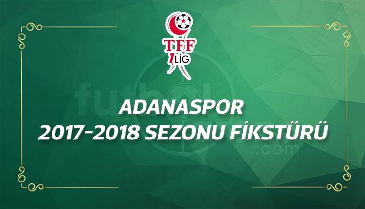 Adanaspor'un 2017-2018 sezonu fikstürü - Adanaspor'un maçları