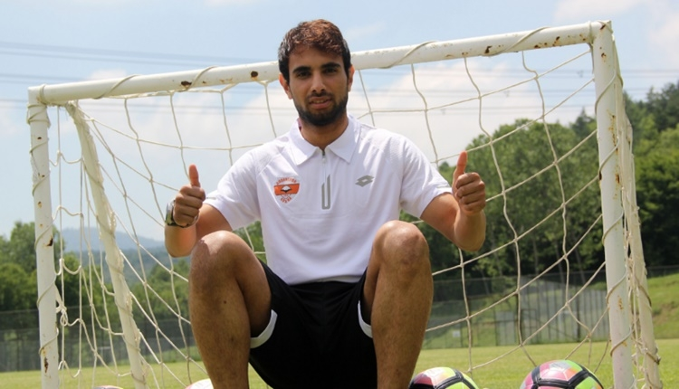 Adanaspor'un yeni transferi Yener Arıca: 'Teklifi hiç düşünmeden kabul ettim'