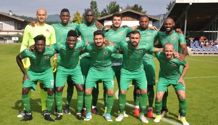 Alanyaspor 1-3 Eibar maçın özeti ve golleri