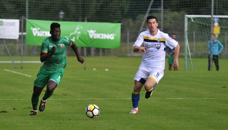 Alanyaspor 2-1 Asteras Tripolis maçı özeti ve golleri