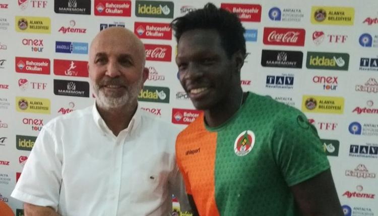 Alanyaspor, Fabrice N'Sakala ile yeniden anlaştı