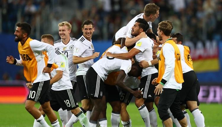 Almanya 1-0 Şili final maçı özeti ve golü