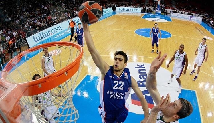 Anadolu Efes'te Furkan Korkmaz NBA'ye transfer oldu