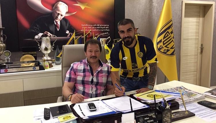 Ankaragücü Sercan Kaya'yı transfer etti