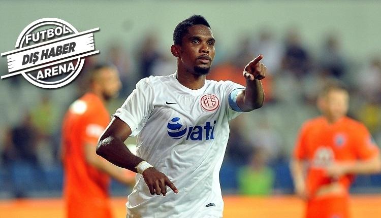 Antalyasporlu Eto'o transferde Gomis'in yerine önerildi