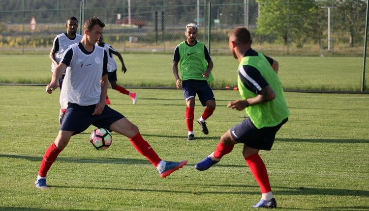 Antalyaspor'un Bolu kampı devam ediyor