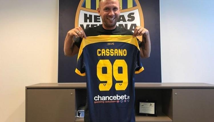 Antonio Cassano, Hellas Verona'ya transfer oldu