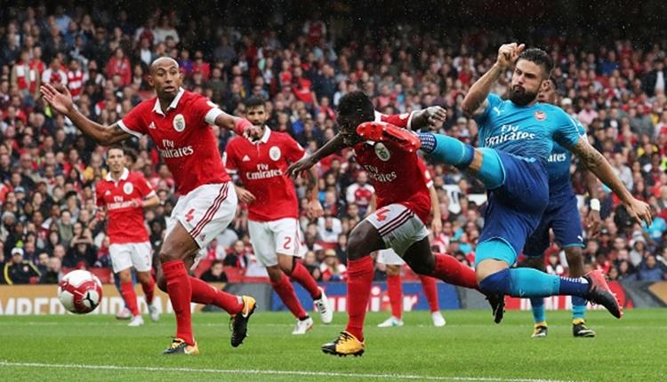 Arsenal 5-2 Benfica maçı özeti ve golleri - İZLE