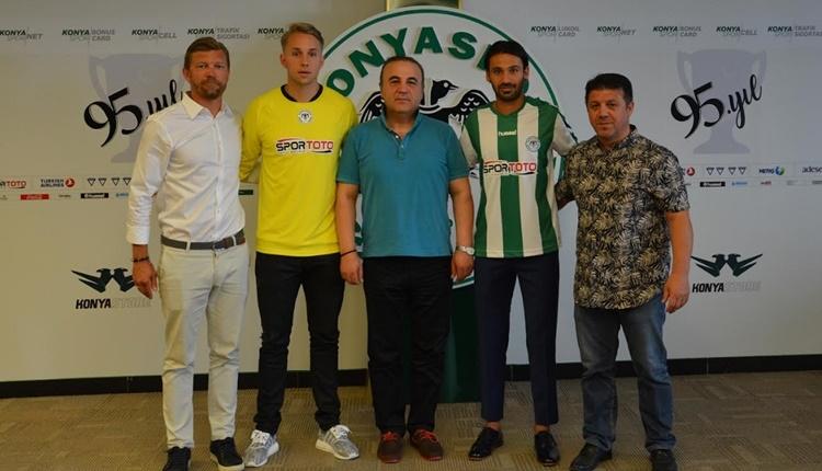 Atiker Konyaspor'da Patrick Carlgren ve Savaş Polat transferi