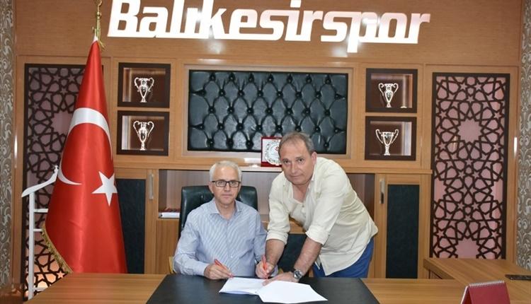 Balıkesirspor Teknik Direktör Can Cangök'ten memnun