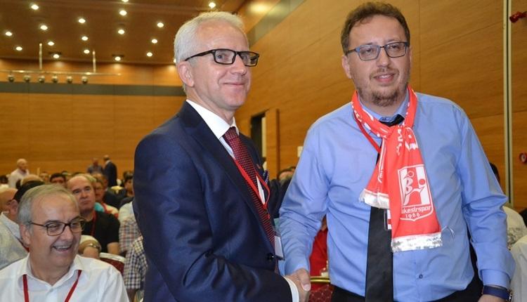 Balıkesirspor'un yeni başkanı Remzi Boncuk