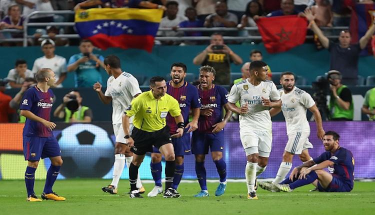 Barcelona - Real madrid maçı özeti ve golleri