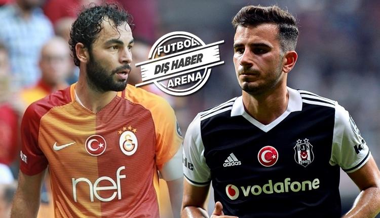 Beşiktaşlı Oğuzhan Özyakup ve Galatasaraylı Selçuk İnan'a aynı takımdan transfer teklifi