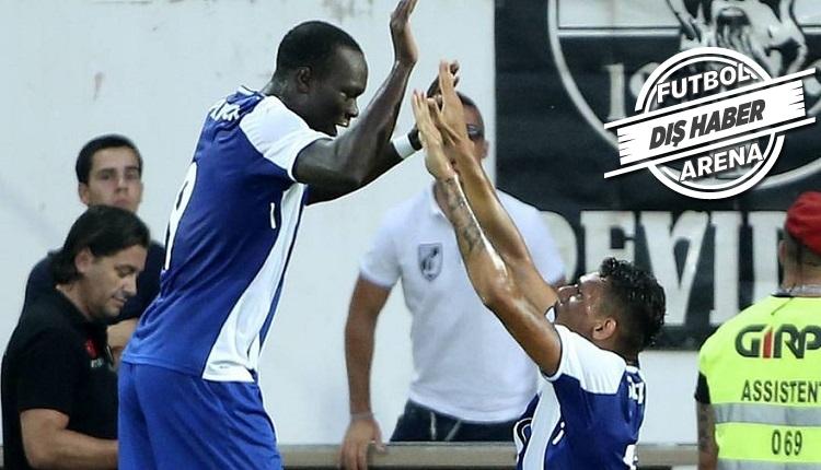 Beşiktaş'ın transferdeki gözdesi Aboubakar'dan Porto'da gol şov! (İZLE)