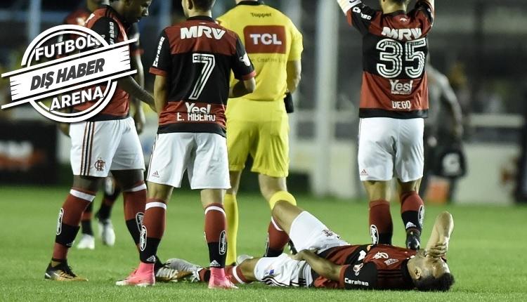 Beşiktaşlı eski futbolcu Rhodolfo, Flamengo'da yine sakatlandı!