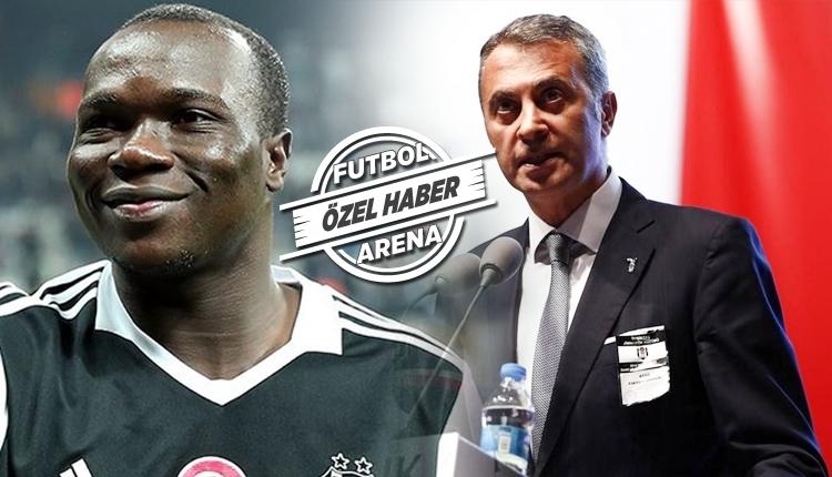 Beşiktaş'ta Fikret Orman, Aboubakar'dan vazgeçmiyor