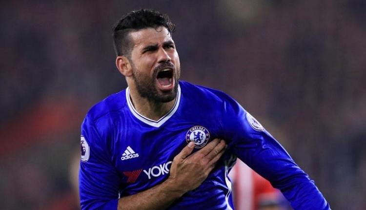 Beşiktaş'ta transferde ismi anılan Diego Costa, Chelsea ile vedalaştı