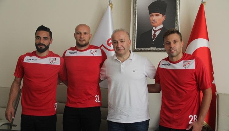 Boluspor transferde 2 oyuncuya imza attırdı