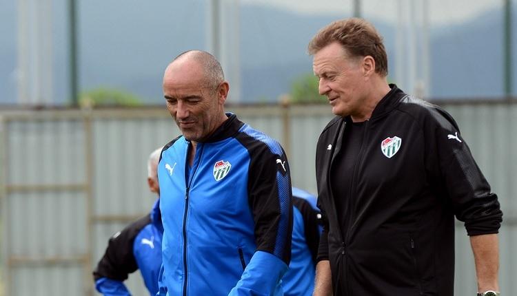 Bursaspor antrenmanında dikkat çeken Le Guen detayı