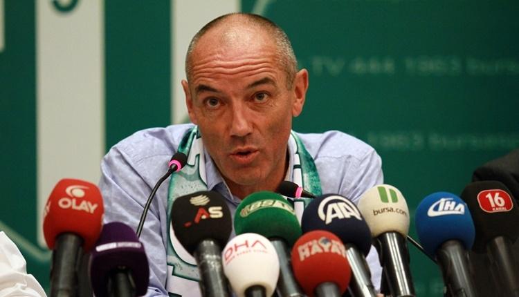 Bursaspor'da Paul Le Guen'den transfer açıklaması!