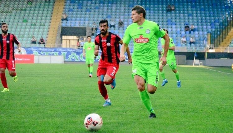 Çaykur Rizespor, Tuszynski ile yollarını ayırdı