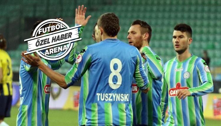 Çaykur Rizespor'da Patryk Tuszynski takımdan ayrıldı