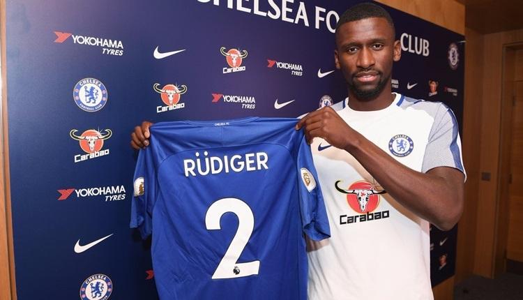Chelsea, Antonio Rüdiger transferine servet ödedi